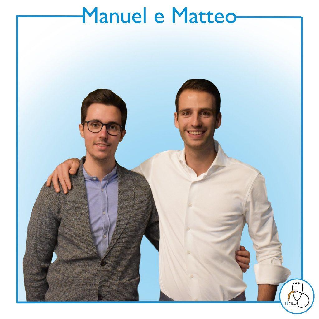 Il team di TeMed - Manuel e Matteo