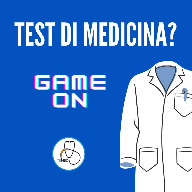 Test di medicina 2021